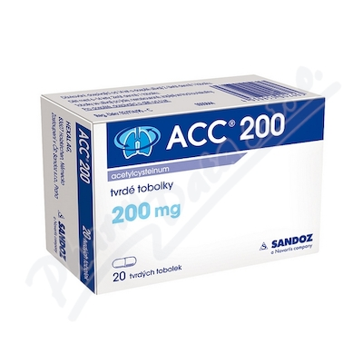 ACC 200 200mg cps dur 20