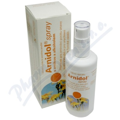 ARNIDOL SPRAY 30MG/ML+100MG/ML DRM SPR SOL 100ML