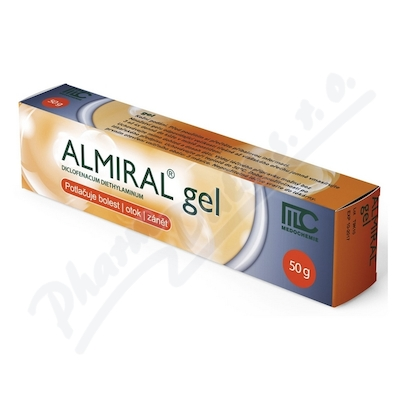 ALMIRAL 10mg/g gel 50g