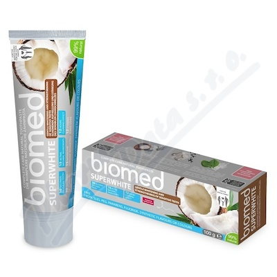 BIOMED SUPERWHITE zubní pasta 100g