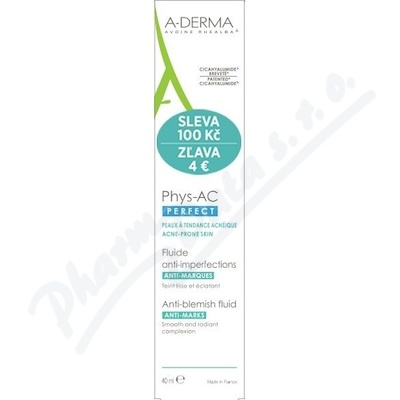 A-DERMA Phys-AC Perfect Fluid 40ml SLEVA